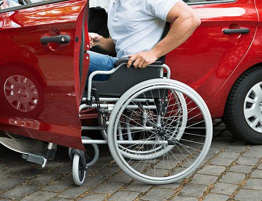 Carro para Deficiente