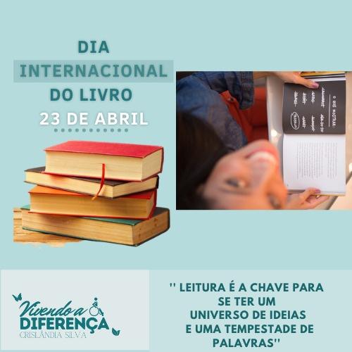 Datas Comemorativas Inclusivas - 23 de Abril - Dia Mundial do Livro 1